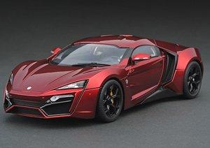 W Motors Lykan Hypersport Metallic Red (Diecast Car)
