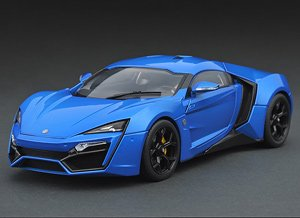 W Motors Lykan Hypersport Royal Blue (Diecast Car