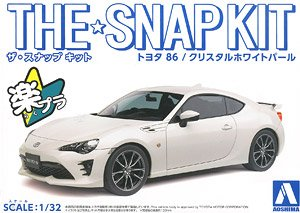 Toyota 86 (Crystal White Pearl) (Model Car)