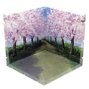 Dioramansion 150: Cherry Blossom Road (Anime Toy)