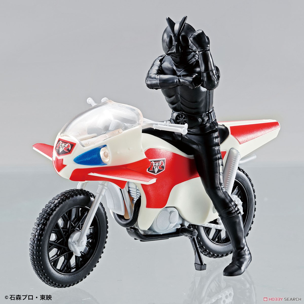 New Cyclone & Kamen Rider New 2nd (Plastic model) Item picture5