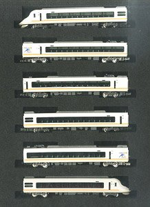 Kintetsu Series 21020  `Urban Liner next` (w/Kintesu Limited Express Commercial Operation The 70th Anniversary Logo) Six Car Formation Set (w/Motor) (6-Car Set) (Pre-colored Completed) (Model Train)