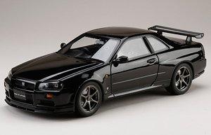 ニッサン スカイライン GT-R V・スペック 1999 (BNR34) ブラックパール (ミニカー)
