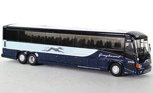 (HO) MCI D4505 Greyhound Bus Chicago (Model Train