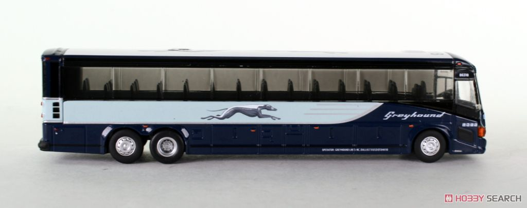 HO) MCI D4505 Greyhound Bus Chicago (Model Train) Item picture3