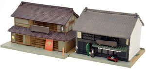 The Building Collection 057-3 Soba Shop/Tea House 3 (Model Train)