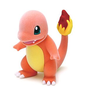 Charmander Flocking Doll (Character Toy)