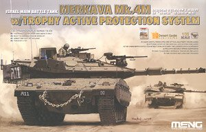 Israel Main Battle Tank Merkava Mk.4M w/Trophy Active Protection System (Plastic model)