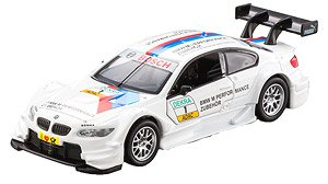 Diecast Car Cast Vehicle BMW M3 DTM #1 (White) (Completed)