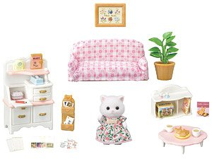 Persian Cat Furniture Set (Sylvanian Families)