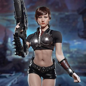 Female Hands Set of 6-1//6 Scale Galaxy Soldier Phicen Action Figures