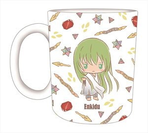 Fate/Grand Order [Design produced by Sanrio] Mug Cup Enkidu (Anime Toy)