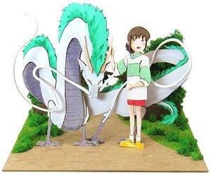 Miniatuart Studio Ghibli Mini Spirited Away Dagon Haku Chihiro Assemble Kit Railway Related Items Hobbysearch Model Train Ho Z Store
