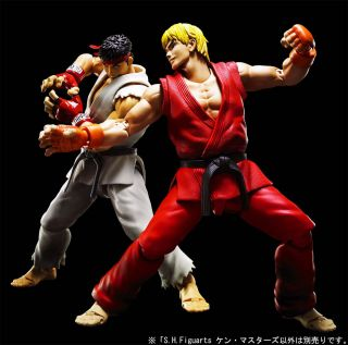 Bandai S.H.Figuarts Street Fighter Ken Masters Figure NEW from Japan