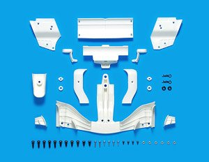 SP1603 F104 Wing Set (Type 2017) White (RC Model)