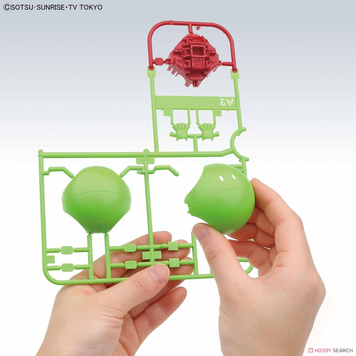 Haropla Haro Basic Green (Gundam Model Kits) Other picture3