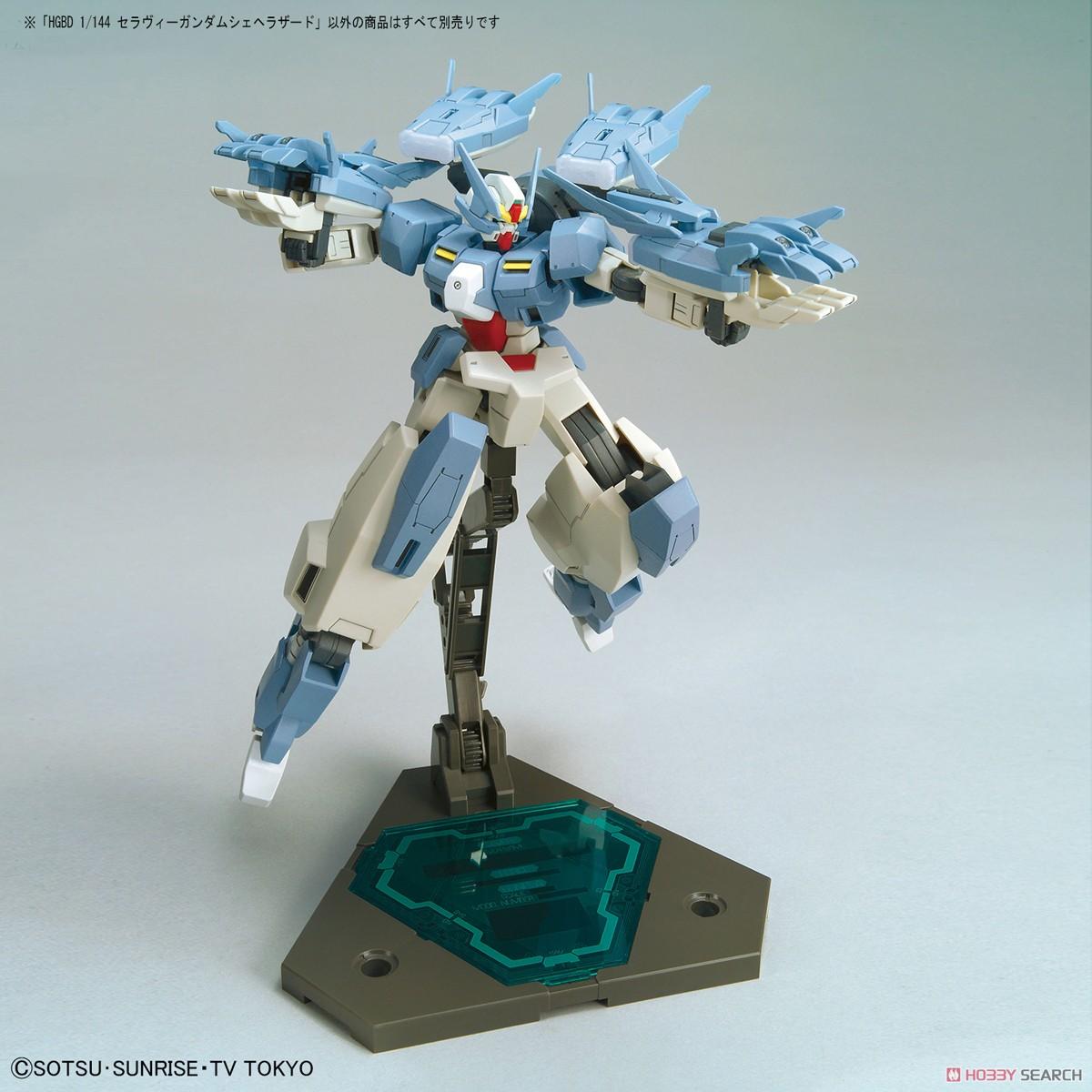 Seravee Gundam Scheherazade (HGBD) (Gundam Model Kits) Other picture3