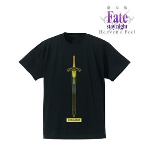 Fate/stay night [Heaven`s Feel] Foil Print T-Shirts (Excalibur) Mens XL (Anime Toy)