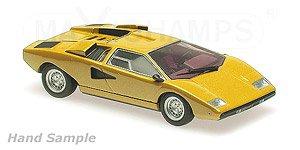 Lamborghini Countach LP 400 1970 Yellow (Diecast Car) - HobbySearch ...