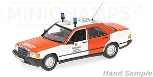 Mercedes-Benz 190E (W201) 1982 Aachen Fire Engine (Diecast Car