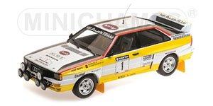 アウディ クワトロ A2 `AUDI SPORT` #1 サンヨー ニュージーランド ラリー 1984 (ミニカー)