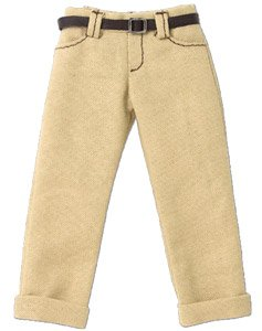 PNS Boys Low-rise Cropped Pants (Beige) (Fashion Doll)