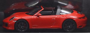 ポルシェ 911 (991.2) タルガ 4GTS 2017 レッド (ミニカー)