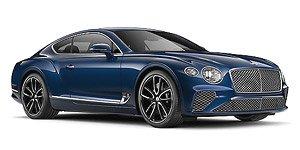 ベントレー コンチネンタル GT 2018 ブルー (ミニカー)