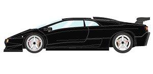 Lamborghini Diablo Svr 1996 Black White Wheel Diecast