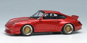 ★特価品 Porsche 911(993) GT2 `Duck tail Spoiler` キャンディレッド (ミニカー)