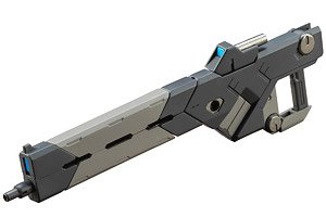 ウェポンユニット01 バーストレールガン (プラモデル)