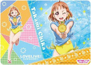 Character Universal Rubber Mat Love Live Sunshine Chika Takami Play In Water Ver Anime Toy Hobbysearch Anime Goods Store