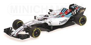 ウィリアムズ マルティニ レーシング メルセデス ランス・ストロール ショーカー 2018 (ミニカー)