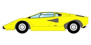 Lamborghini Countach LP400 1974 イエロー (ミニカー)