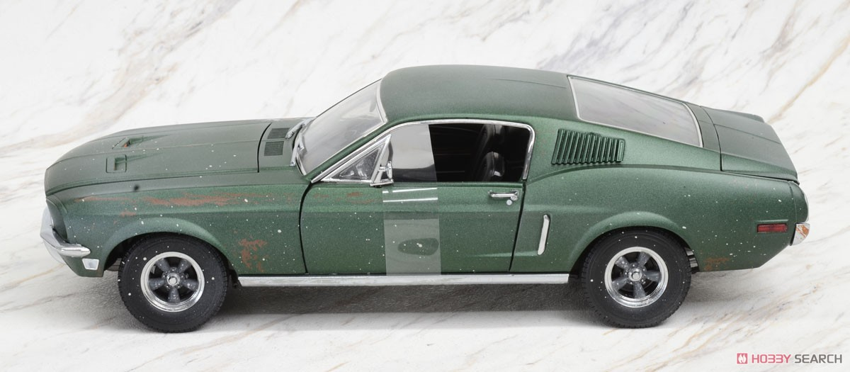 Steve McQueen Collection (1930-80) - Unrestored 1968 Ford Mustang GT Fastback (ミニカー)