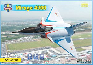Mirage 4000 Prototype Fighter (Plastic model)