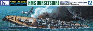 英国海軍重巡洋艦ドーセットシャー インド洋セイロン沖海戦 (プラモデル)