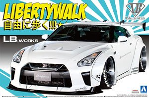 LB Works R35 GT-R type1.5 (Model Car)