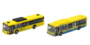 The Bus Collection Tokachi Bus Old and New Color (2-Car Set)