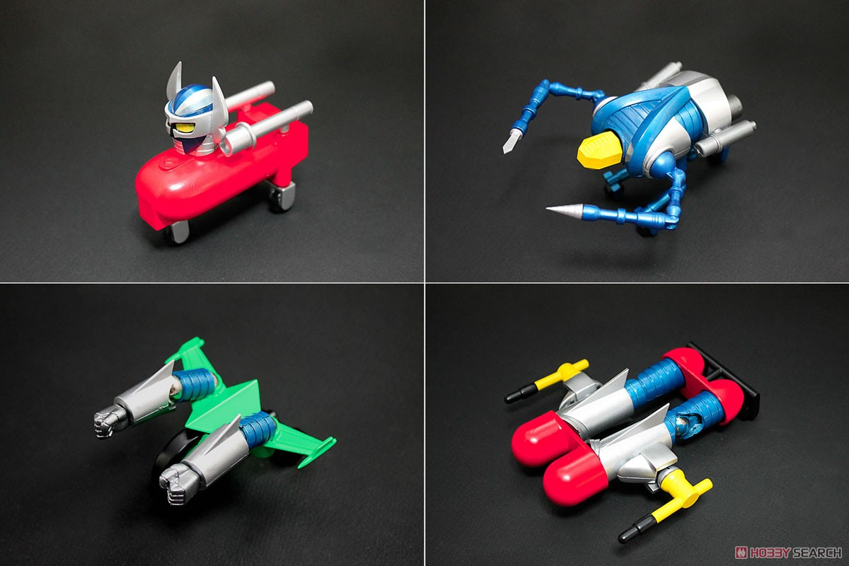 Dynamite Action! Strong Zaborger & Gattai Machine Set Limited Color Ver. (Completed) Item picture4