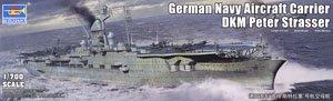 ドイツ海軍 航空母艦 ペーター・シュトラッサー (プラモデル)