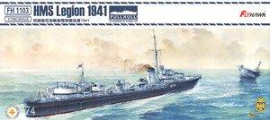 イギリス海軍駆逐艦 リージョン 1941年 (プラモデル)