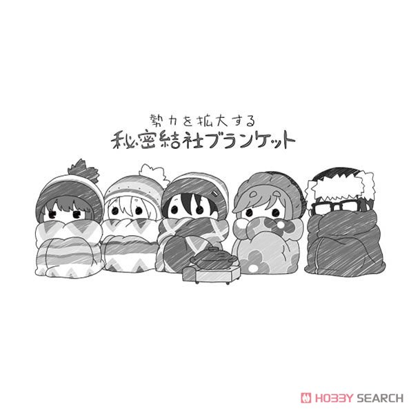 Yurucamp] Scene Picture Deformed T-Shirts The Expansion of a