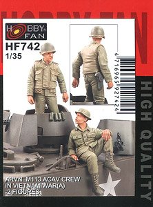 ARVN M113 Acav Crew In Vietnam War(A) -2 Figures (Plastic model)