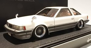Toyota Soarer 2800GT Limited(Z10) White/Gold (ミニカー)