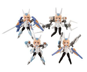 Desktop Army Frame Arms Girl KT-240 f Baselard (Set of 4) (PVC Figure)