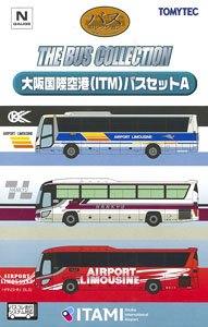 The Bus Collection Osaka International Airport (ITM) Bus Set A (3-Car Set)