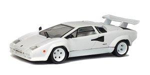 Lamborghini Countach Lp500s 1985 White Diecast Car Hobbysearch