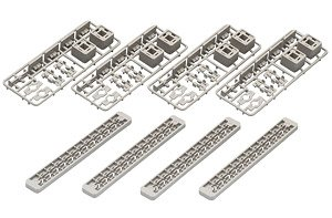 Fine Track Cross Beam for Multi-Level Viaduct Size M (Set of 4) (Model Train)