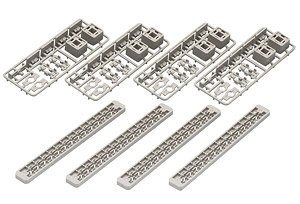 Fine Track Cross Beam for Multi-Level Viaduct Size L (Set of 4) (Model Train)